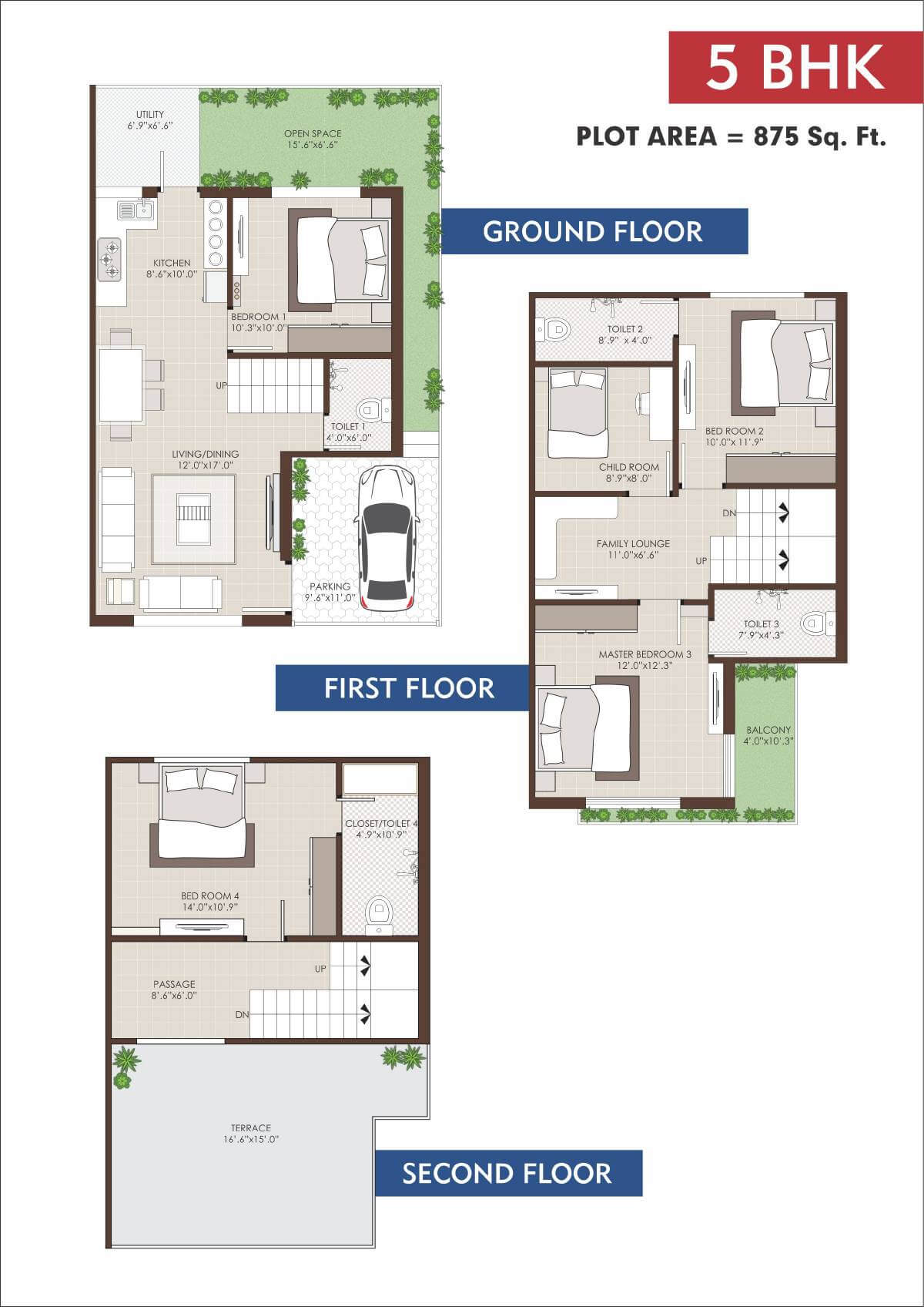 100 Family Compound Floor Plans 25 Woodgate Ct